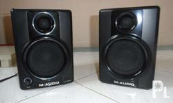 Selling my M-Audio Studio Monitors.Orig.Bought in
