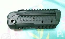 CAA m4 handguard used,for real steel,some parats are