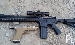 # m4 sr16 battery operated 3oo rounds magasine with
