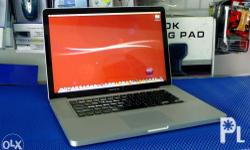 CREDIT CARD Payment Accepted Orig Macbook Pro 15inch