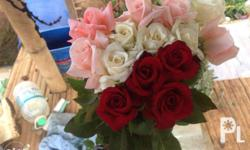 Roses for all occasions, price indicated is pick-up