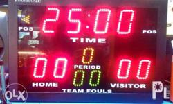 Portable tabletop scoreboard with built in control