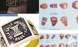 made to order college ring.. 1500 up for girls base on