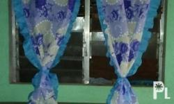 Made to order Curtains w/ different designs. I also