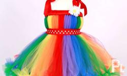 Made to Order tutu dress for your Babies Birthday,