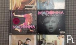 Used Madonna Albums and Madonna DVD 1. Remixed &