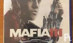 Mafia 3 with map and unused code. Tagaytay and SM