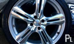 Concept One Rims 17 inches 4 holes Neuton 205 / 45 with
