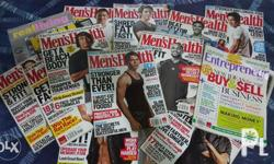 Men's Magazines. Local and few International released.