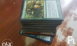 Magic the Gathering cards Mint condition 7pesos per
