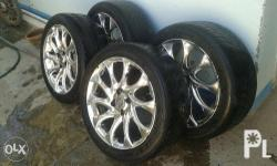 Mags ant tire 195x50x16 100 pcd with federal tire 80%