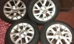 Nissan Almera mags and tires
