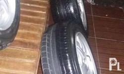 For sale rush !!! 2nd hand mags and tire 4 pcs good