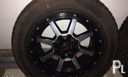 18inch TUFF A.T wheels 6holes for SUV cars.set with