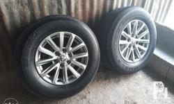 For sale: Mags and tires for Montero 2016. Nego upon
