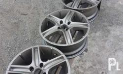 "For Sale 16"" Mags PCD 100X7 4 Holes Dont now the Brand"