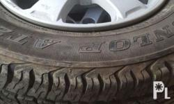 Unused good conditioned mags with tires 95% tires 205