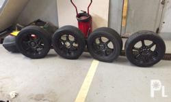 Mags with tire for 8k 2 tires ok pa 70-80% pa yung