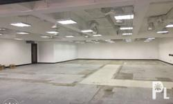 280sqm Bare Office with individual bathroom AC supplied