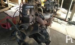 12r engine with transmission... Good condition Issue: