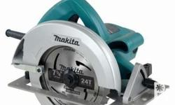 Original Makita Circular Saw Big and powerful motor