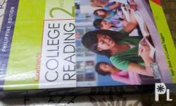 Books used by Malayan Colleges Laguna freshmen: College