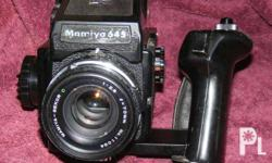 The Mamiya 645J is a popular and reliable Medium