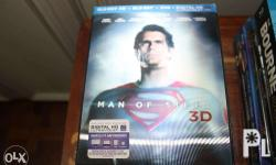 Selling Man of Steel 3D / 2D Bluray with Lenticular