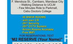 MANDAUE CITY ROOMS for RENT Good for Two (2) per Room