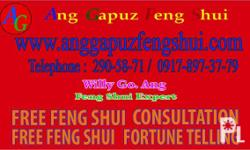 MANILA FENG SHUI FOR OFFICE - FREE CONSULTATION CALL :
