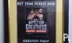 Original Cinema Fight Poster (Size: 18x24 Inches) With