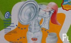 Sesame street manual breast pump 2nd hand Good as new