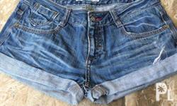 Sale Maong Shorts size 28 Good Condition Slightly Used
