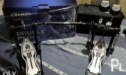 Mapex Double pedals - single chain - with bag and box -