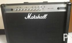 MARSHALL MG102CFX guitar amp. almost brand new with
