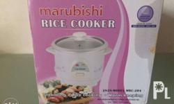 Brand New Marubishi Rice Cooker