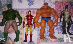 Action Figures (used) the thing-250 hulk-300