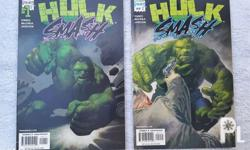 Issue #s 1 & 2 (March/April 2001) as a set; both comics