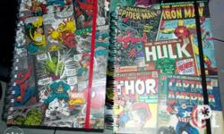 MARVEL Diary Style notebook P250 each Size: 12X20mm For