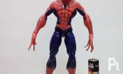 FOR SALE Captain America & Spiderman Action Figures