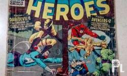 Marvel SuperHeroes Comics No.1 issue - 1966 This item
