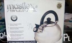 MASFLEX Stainless steel kettle - Brand new Pickup: