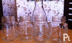 Mason Jar -60 only (35 pcs available) and Cow's milk