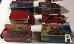All original from 70's up Some box not in good
