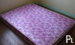 I am selling a double size mattress for 2000p. It is 7