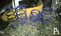 Used but not abused lowering springs -Maxspeed brand