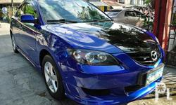 Description Make: Mazda Model: Mazda3 Year: 2006 Type