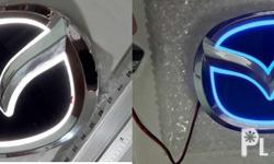 Mazda 3 Mazda3 Badge Logo Emblem 2 LED color choices 12