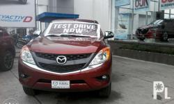 Own a MAZDA BT-50 4x2 M/T! NOW for its LOWEST PROMO of