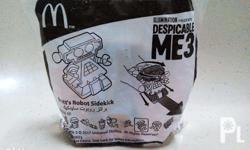UP FOR SALE! McDonald's Dubai Bratts's Robot Sidekick *